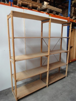 Hedendaags Houten stelling HOZA | Maison-All Magazijninrichting RT-33